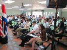 The audience looks on as the Meeting gets underway at the Fabio Baudrit Experiment Station, Universidad de Costa Rica. March 8, 2012.